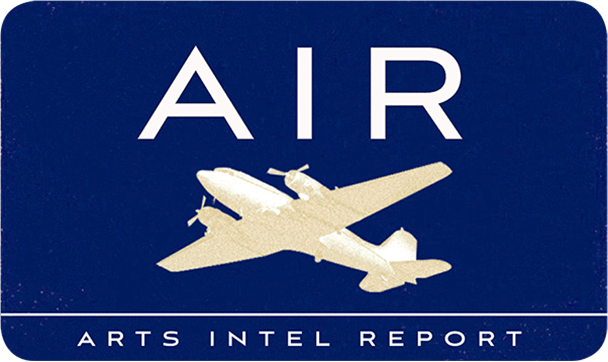 Air Mail Arts Intel Logo