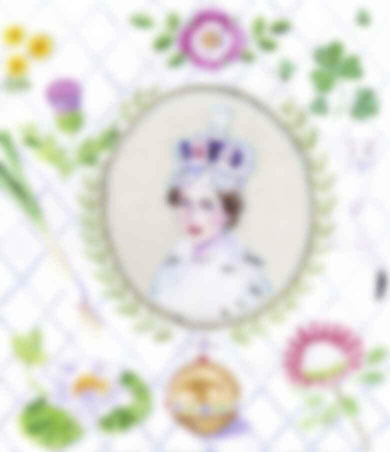 """While doing research on the British florist Constance Spry, who did the flowers and, surprisingly enough, co-created the chicken recipe for Queen Elizabeth's 1953 coronation lunch, I was struck by Elizabeth's radiance and grace as she prepared to take the crown."""