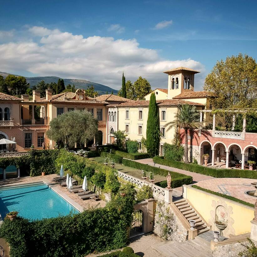 Château Diter, a palazzo in the South of France.