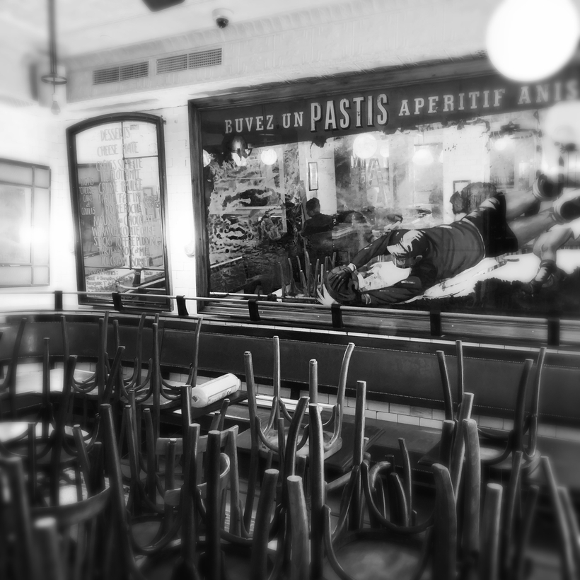 The new Pastis, under construction.