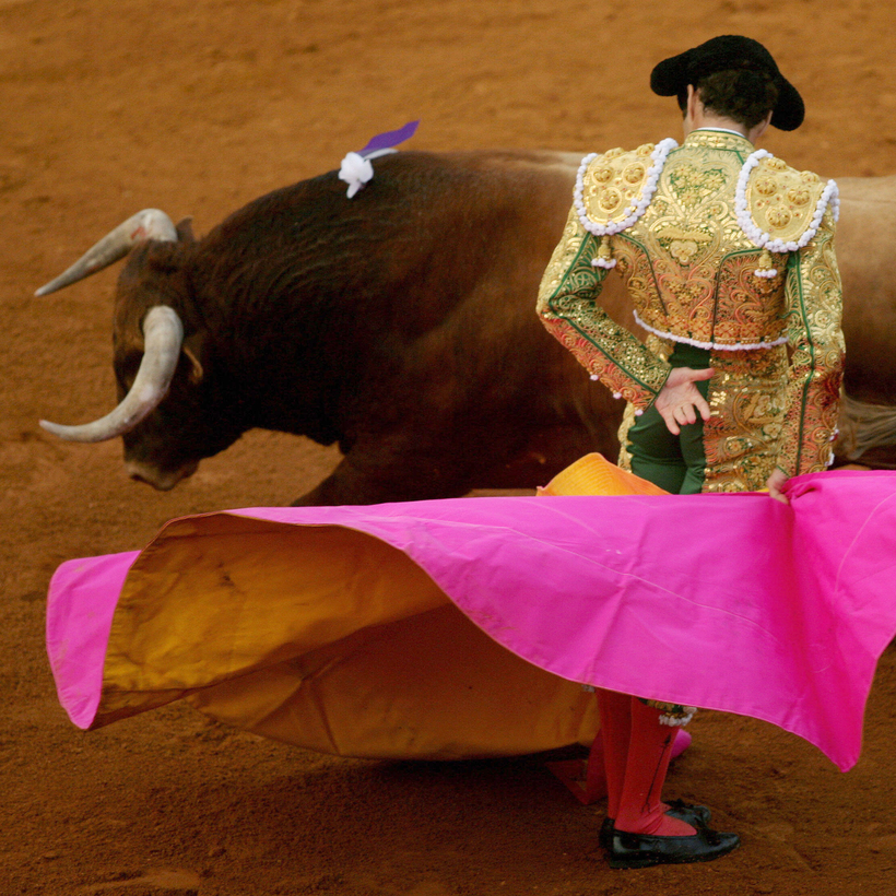 Spanish matador José Tomás during a bullfight in Algeciras, Spain, 2007.