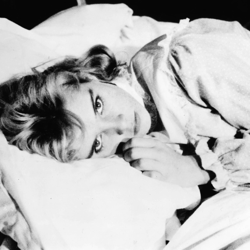 Sue Lyon as Lolita, 1962.