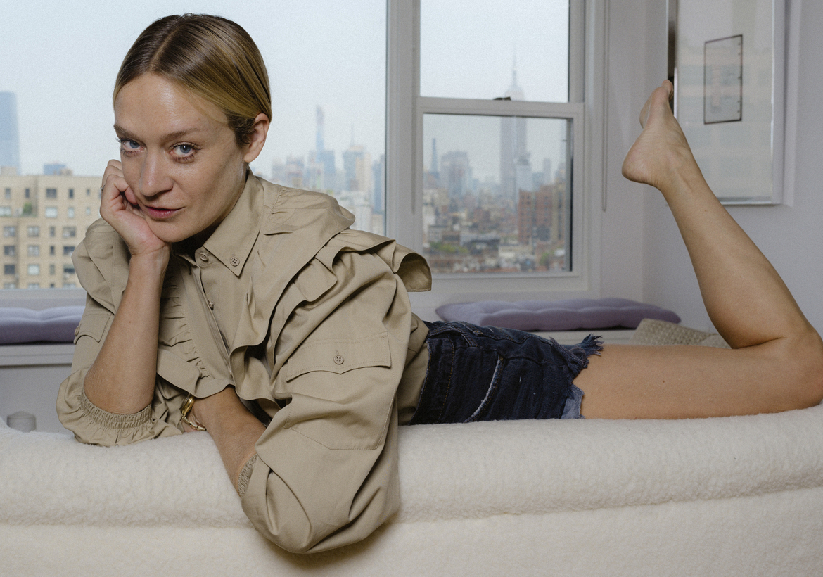 Chloë Sevigny at her home in New York, August 2019.