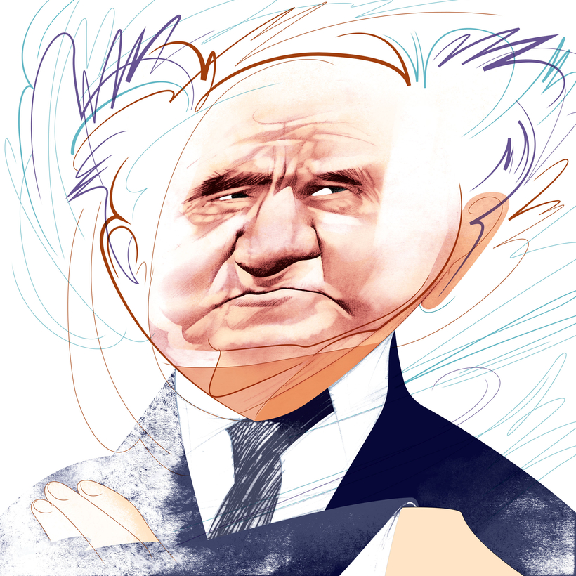 David Ben-Gurion, the founder of Israel, is the subject of a new biography by Tom Segev.