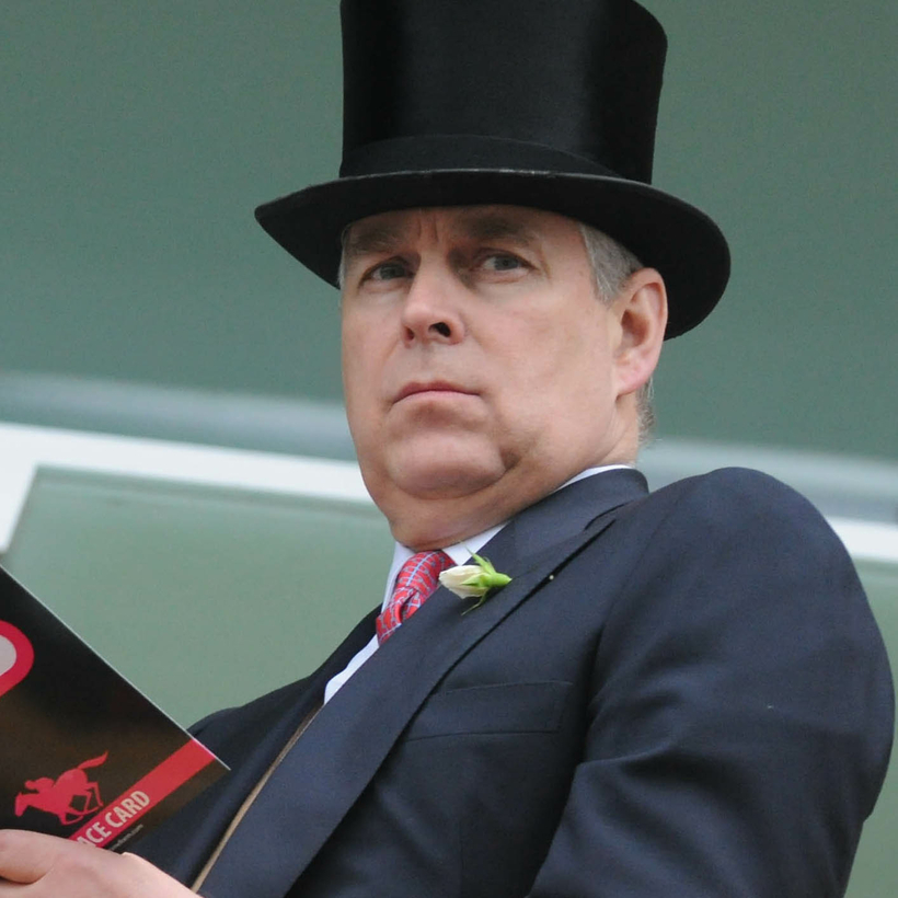 H.R.H. Prince Andrew at Royal Ascot in 2011. Fillies be warned.