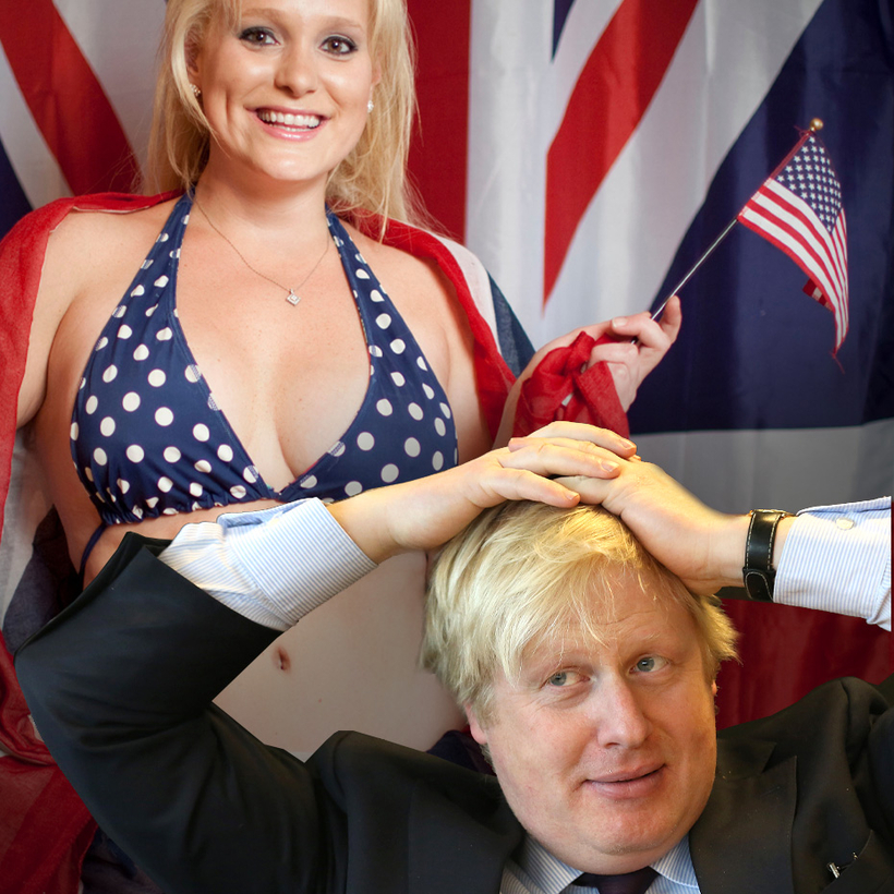 A special relationship: Boris Johnson and Jennifer Arcuri.