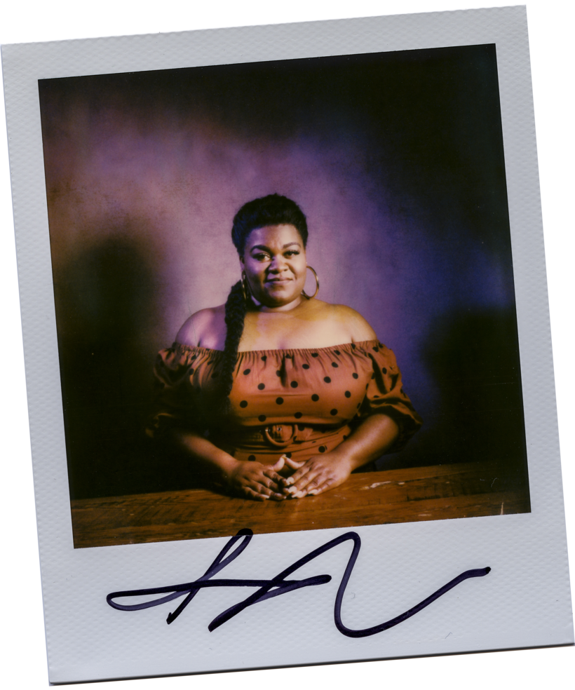 Da'Vine Joy Randolph, who stars as the 1970s comedian Lady Reed in Dolemite Is My Name.