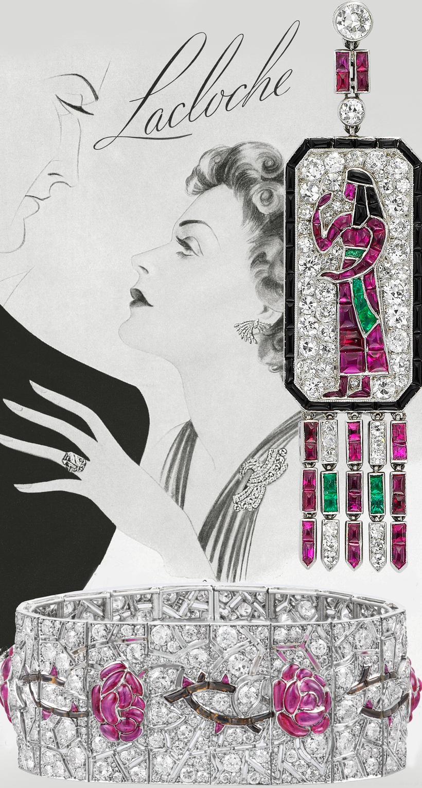 """The Belle Époque of the Maison Lacloche"" is on view at Paris's L'École, School of Jewelry and Arts, through December 20."
