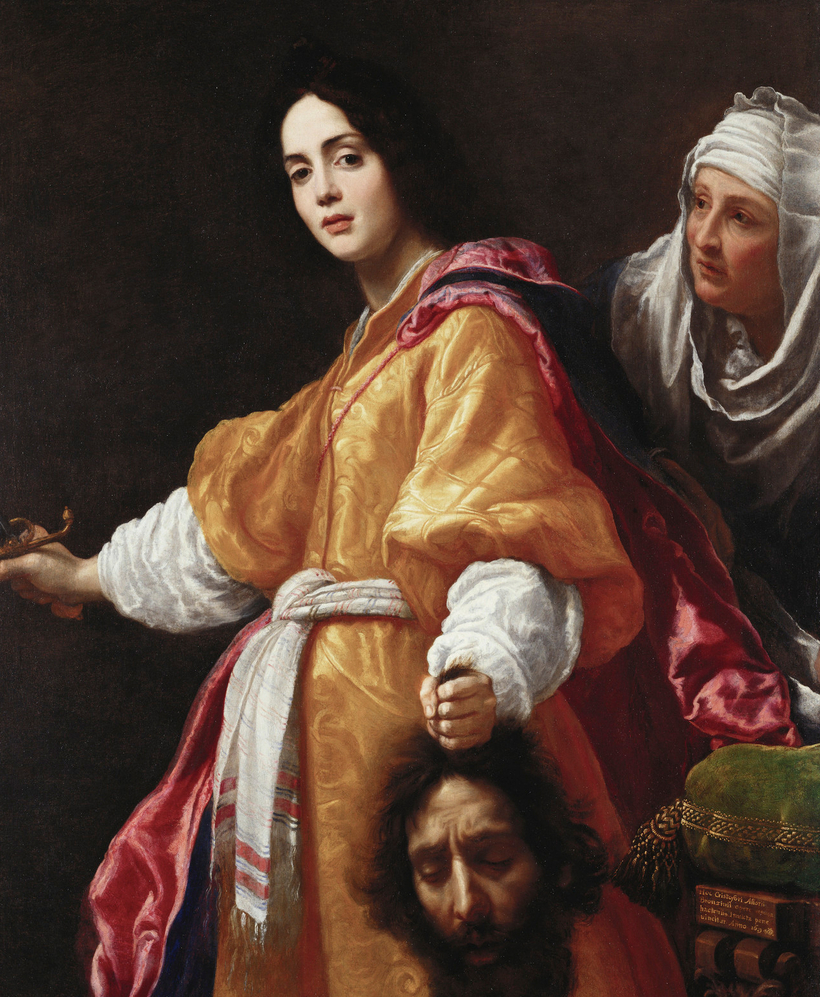 """Among the masterpieces moving from Buckingham Palace to the Queen's Gallery for one year are Cristofano Allori's Judith with the Head of Holofernes, a painting of """"a gory subject with not a drop of blood in sight,"""" says curator Isabella Manning."""